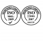 Certificates ISO9001 and ISO22000 (HACCP)